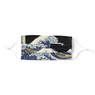 Japanese Great Wave mask