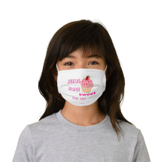 Jesus How Sweet He is! Kids' Cloth Face Mask