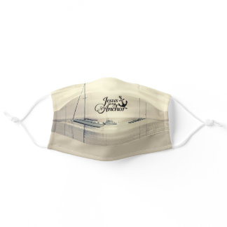Jesus is My Anchor, Christian Adult Cloth Face Mask