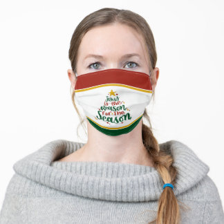 Jesus is the Reason for the Season Adult Cloth Face Mask