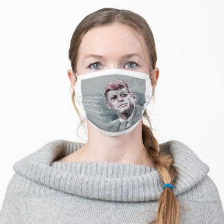 JFK & Quote Adult Cloth Face Mask