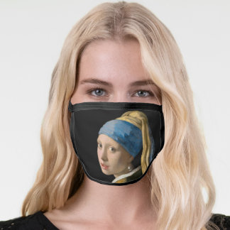 Johannes Vermeer - Girl with a Pearl Earring Face Mask