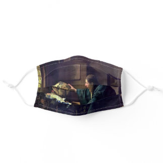 Johannes Vermeer - The Astronomer Adult Cloth Face Mask