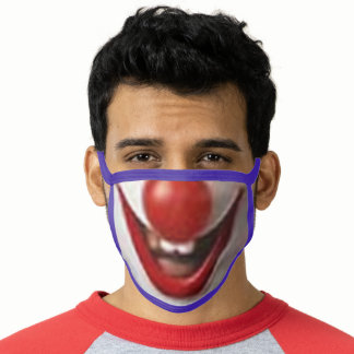 Joker clown funny washable  Reusable Face Mask