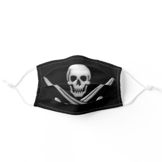 Jolly Roger Pirate Adult Cloth Face Mask