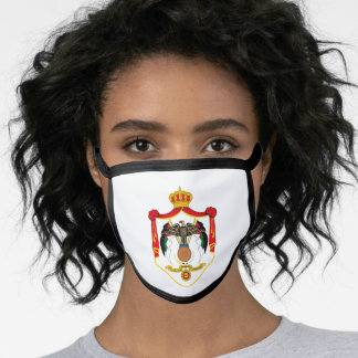 Jordanian coat of arms face mask