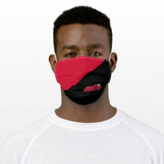 JSU Gamecocks Color Block Adult Cloth Face Mask