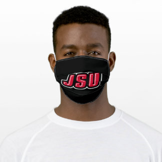 JSU Jacksonville State University Adult Cloth Face Mask