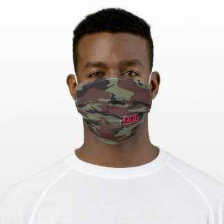 JSU Jacksonville State University Camo Adult Cloth Face Mask