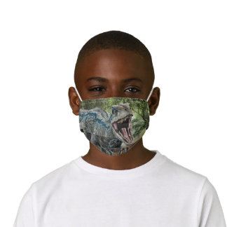 Jurassic World | Blue - Nature's Got Teeth Kids' Cloth Face Mask