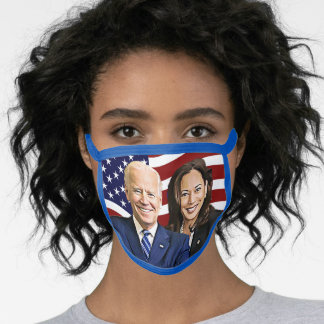 Kamala Harris and Joe Biden 2020 Election Face Mask