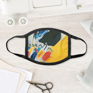 Kandinski Impression III Concert Abstract Painting Face Mask