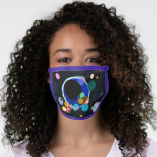 Kandinsky Modern Abstract Artwork Face Mask