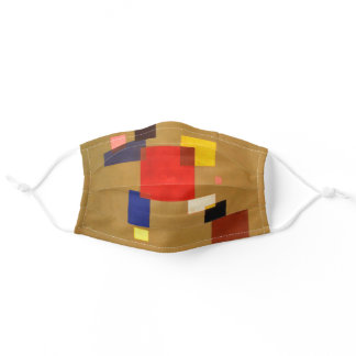 Kandinsky Thirteen Rectangles Abstract Painting Adult Cloth Face Mask