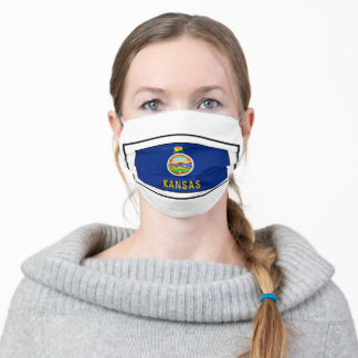 Kansas Adult Cloth Face Mask