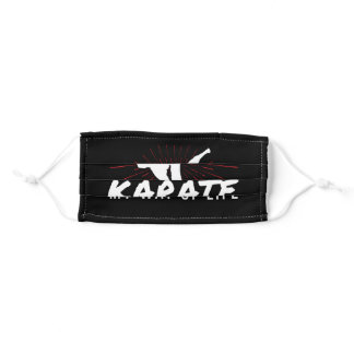 Karate Life Path Martial Artist Self Defense Adult Cloth Face Mask