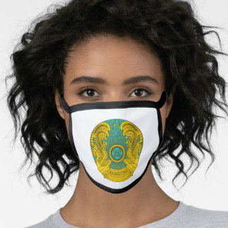 Kazakh coat of arms face mask