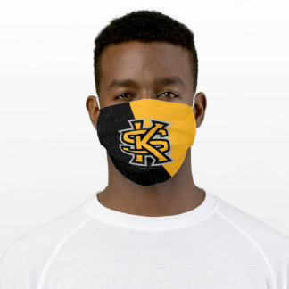 Kennesaw State University Color Block Distressed Cloth Face Mask