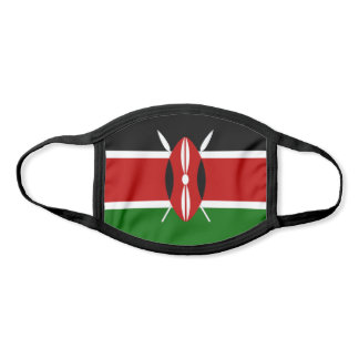 Kenya Flag Face Mask