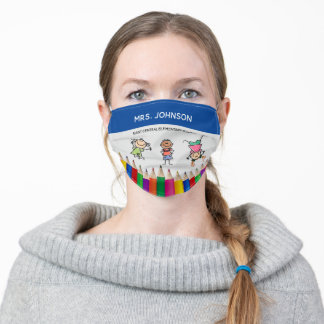 Kids Back to School Adult Cloth Face Mask