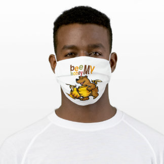 Kids Shirts By ML. Designs With Funny Motifs Adult Cloth Face Mask