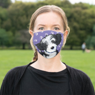 KiniArt Havanese Cloth Face Mask with Filter Slot