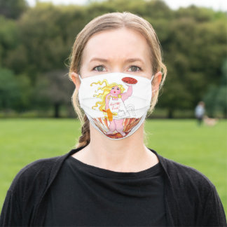 """""""Kiss the Cook"""" Cloth Face Mask"""