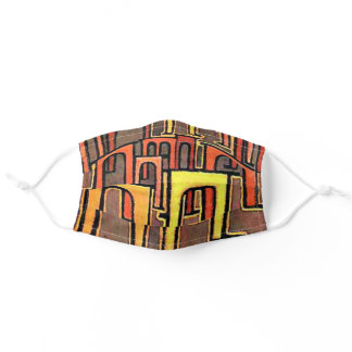 Klee art, Revolution of the Viaduct Adult Cloth Face Mask