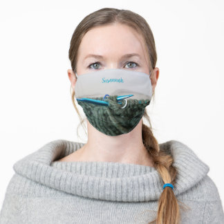 Knitting Personalized Adult Cloth Face Mask