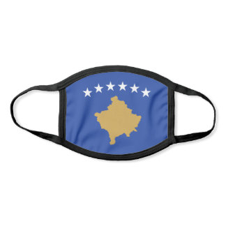 Kosovo Flag Face Mask