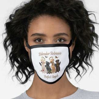 Labrador Retriever Face Mask