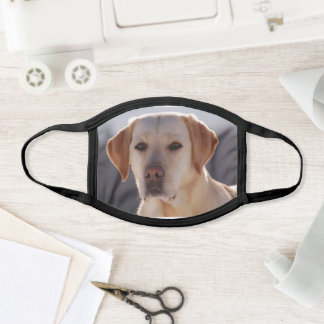 Labrador Retriever Yellow Face Mask