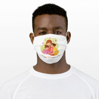 Ladies Mother's Day Present Super Mama Adult Cloth Face Mask