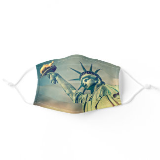 Lady Liberty Statue of Liberty New York City Adult Cloth Face Mask