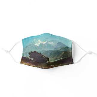 Lake Lucerne Bierstadt Painting Adult Cloth Face Mask