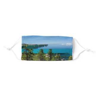 Lake Tahoe Photo Adult Cloth Face Mask