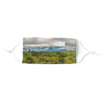 Landscape Scene Cotopaxi National Park, Ecuador Adult Cloth Face Mask