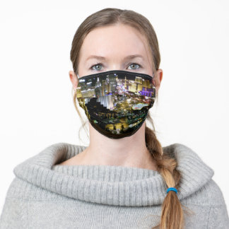 Las Vegas Strip Night View Adult Cloth Face Mask