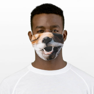 Laughing Fox Adult Cloth Face Mask