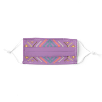 Lavender Designed Southwestern Adult Cloth Face Mask