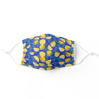 Lemons Pop Art Adult Cloth Face Mask