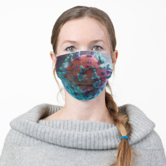 Let's Beat COVID19 Adult Cloth Face Mask