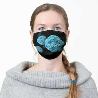 Let's Beat The Virus Adult Cloth Face Mask