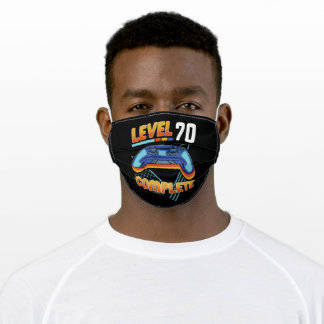 Level 70 Complete - Gift Adult Cloth Face Mask