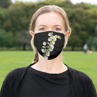 Lily Of The Valley Photographic Art Adult Cloth Face Mask