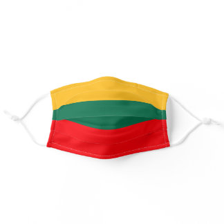 Lithuania Flag Adult Cloth Face Mask