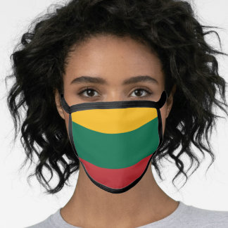 Lithuania & Lithuanian Flag Mask - fashion/sports