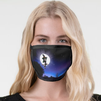 Little Witch Full Moon Night Face Mask