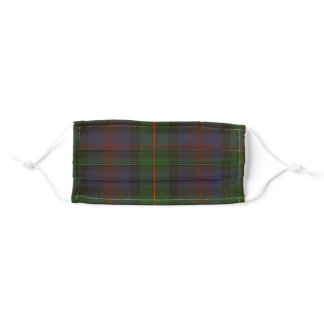 Logan Clan Tartan Plaid Adult Cloth Face Mask