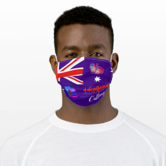London Calling Adult Cloth Face Mask